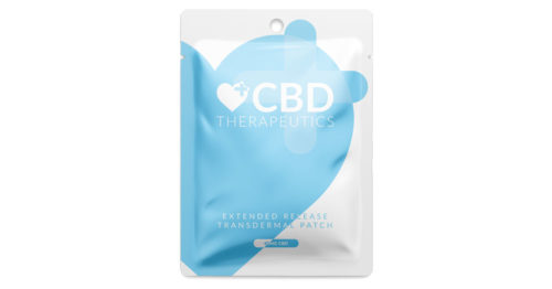 Transdermal CBD Patch Header