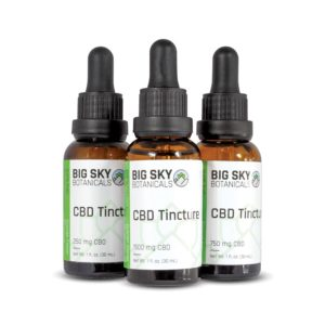 CBD Oil Tinctures Group Shot